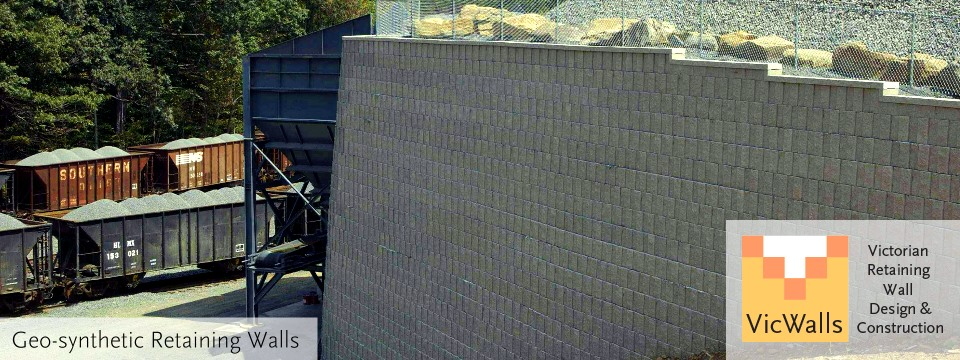 Geogrid Reinforced Retaining Walls   VicWalls